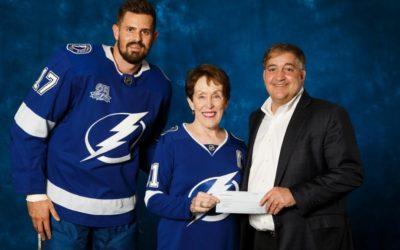Betty Castor Honored as Lightning Community Hero