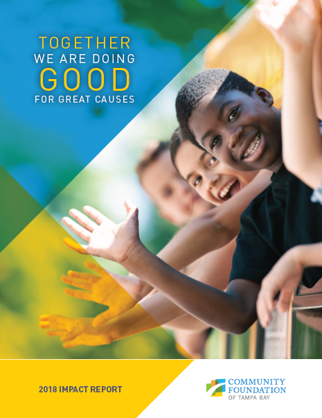 Our annual report about impact in the community