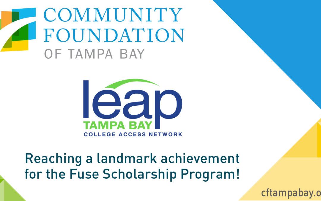 We're celebrating! Bringing the Fuse Scholarship Fund to $3 million