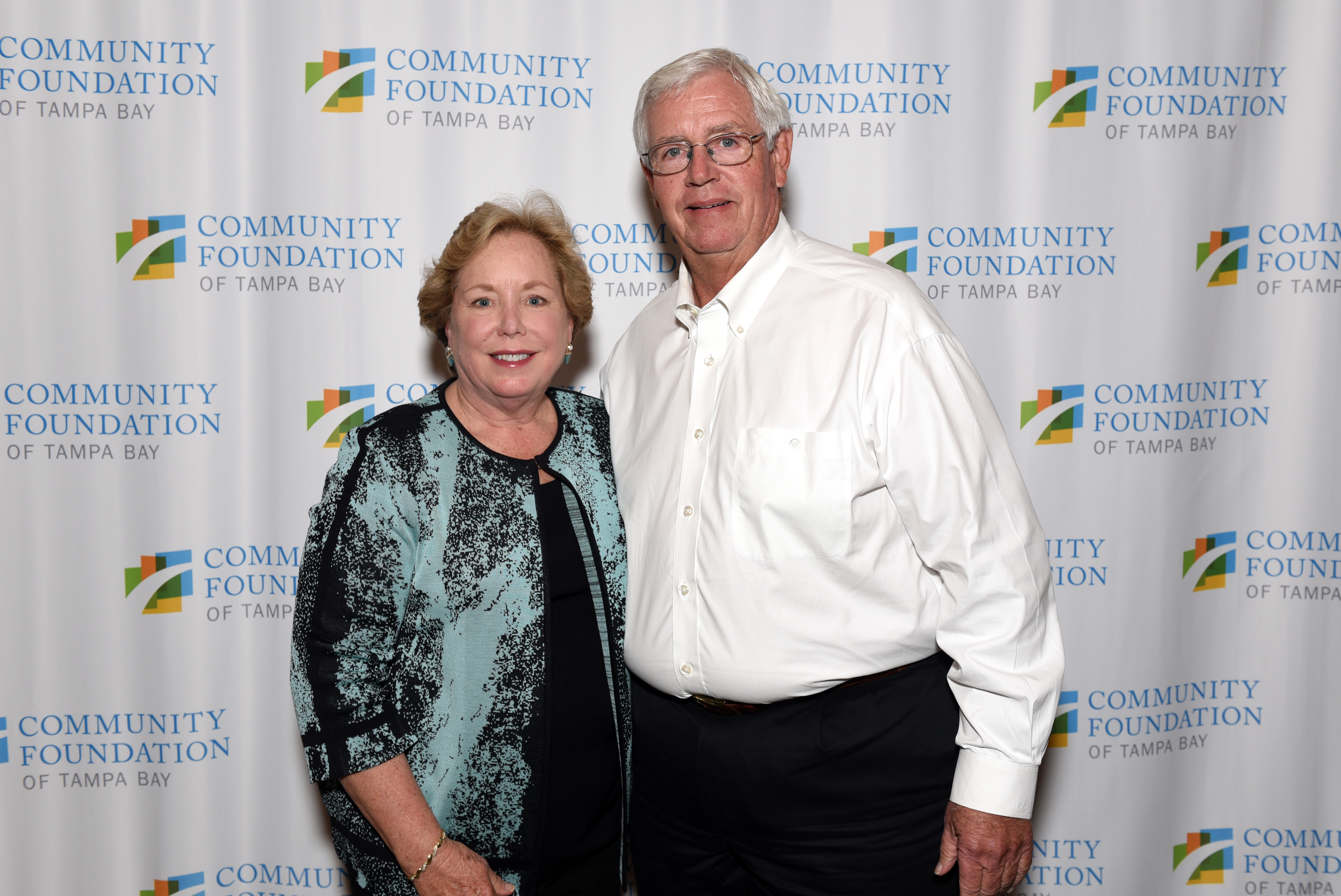 Board member Linda Simmons and Husband Randy