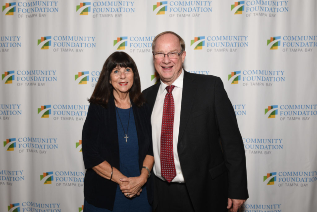 Rebecca Reynal and Board Chair Robert Mohr