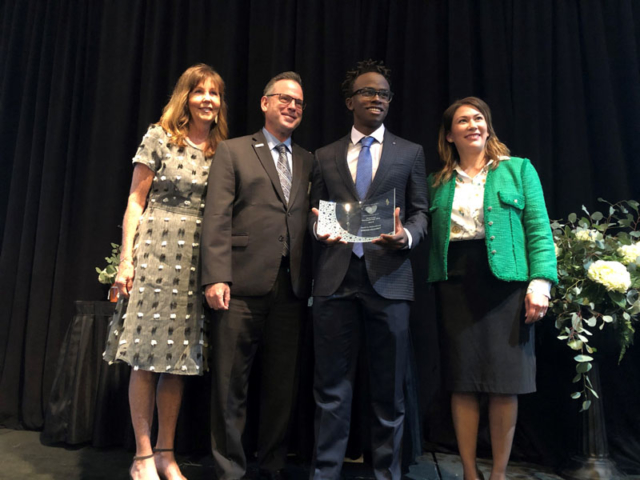 Jordan Peloubet, Youth in Philanthropy Nominated by Stonehill Innovation