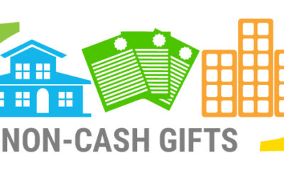 Donating Non-Cash Gifts – Timing is Important.