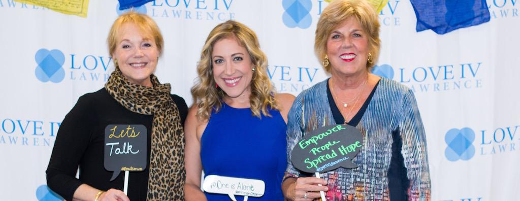 Group of women attending Love IV Lawrence 2019