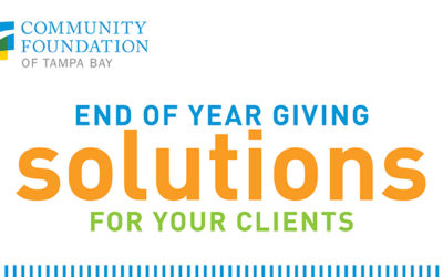 Continue managing your clients' assets while they support their favorite charities