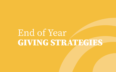 Help Your Clients With End Of Year Charitable Giving Tips