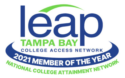LEAP Tampa Bay Receives 2021 Member of the Year Award of Excellence from National College Attainment Network