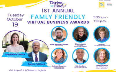 Thrive by Five Pinellas to recognize 24 local companies for family-friendly workplaces